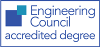 Engineering Council accredited degree Logo