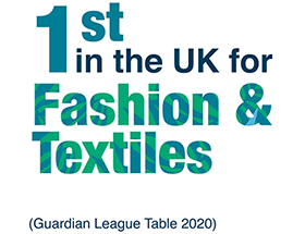 1st in the UK for Fashion and Textiles