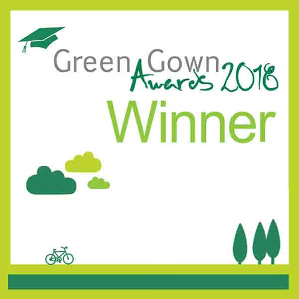 Green Gown Award Winners 2018 widget