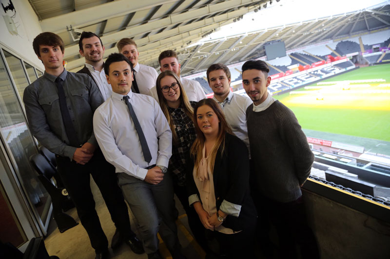 Swansea - Liberty Stadium Students