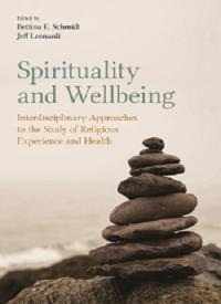 Spirituality and Wellbeing book