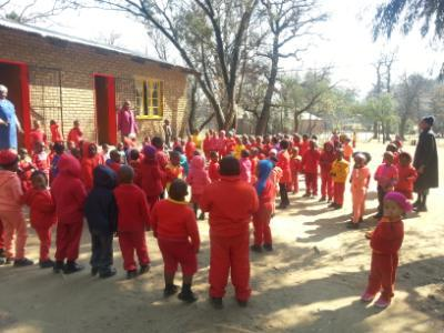 School Children in Lesotho
