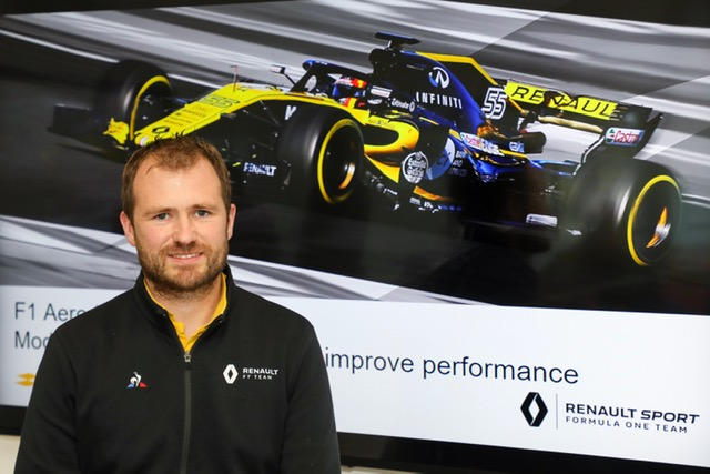 Chris Bull, Principal Aerodynamicist at Renault F1 Team