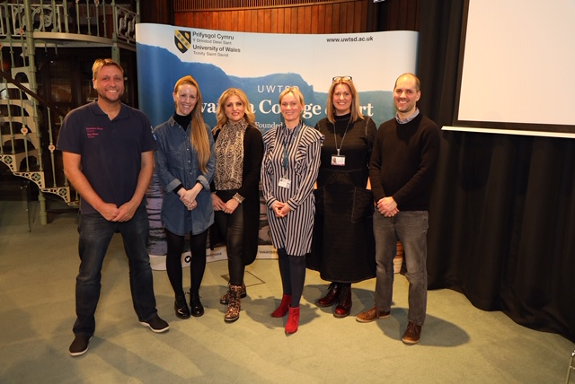 UWTSD has welcomed recent graduates back to the University to share their entrepreneurial success stories at an event hosted by Swansea College of Art in the heart of the city centre.