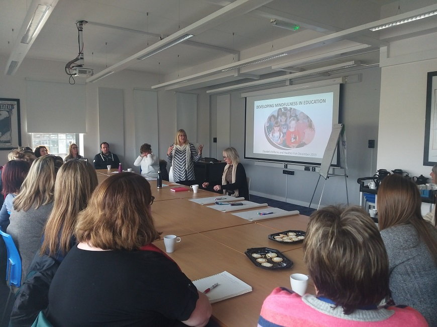 Mindfulness briefing session for youth work was held at UWTSD in December 2019