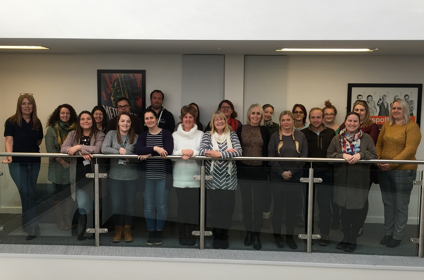 A mindfulness briefing session for youth work was held at UWTSD in December 2019
