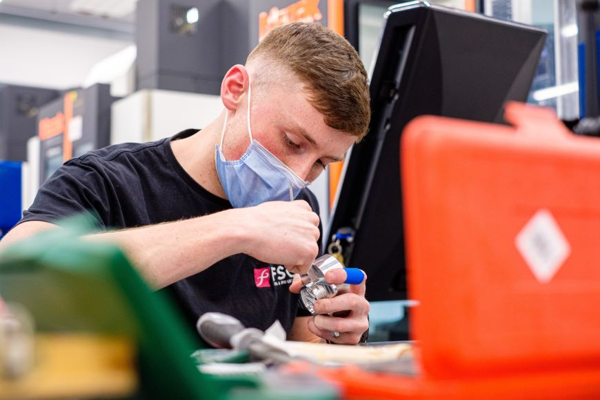 The Advanced Manufacturing Skills Academy at University of Wales Trinity Saint David (UWTSD) hosted the finals of Skills Competition Wales